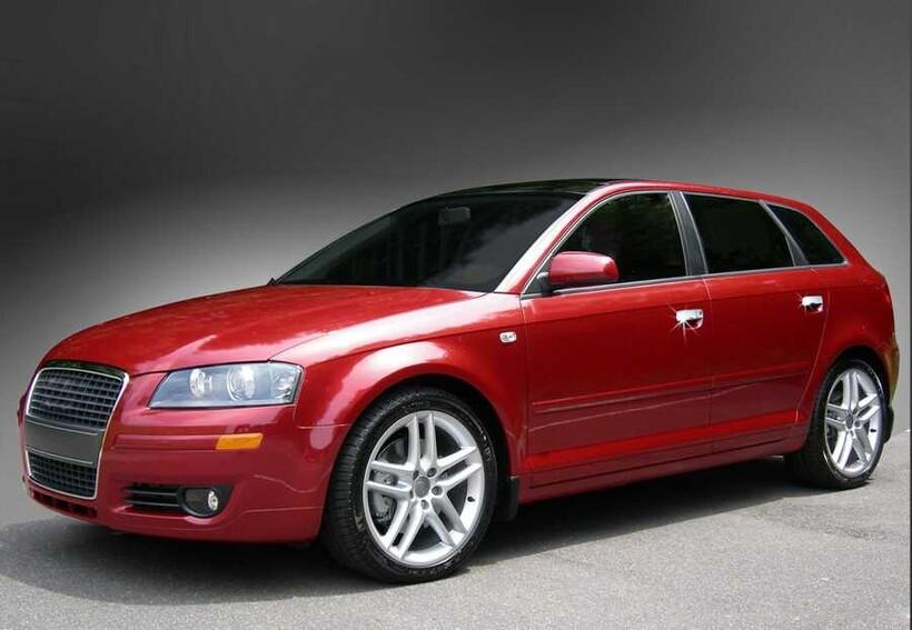 Krom Aksesuar » Omsa - Audi A8 Krom Kapı Kolu 4 Kapı 5 Parça 2003-2010 Arası