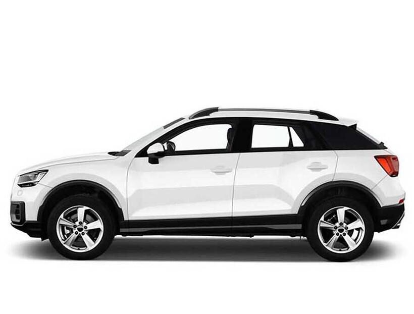 Tavan Çıtaları - Audi Q2 Solid Tavan Çıtası Alüminyum Yapıştırma 2016 ve Sonrası