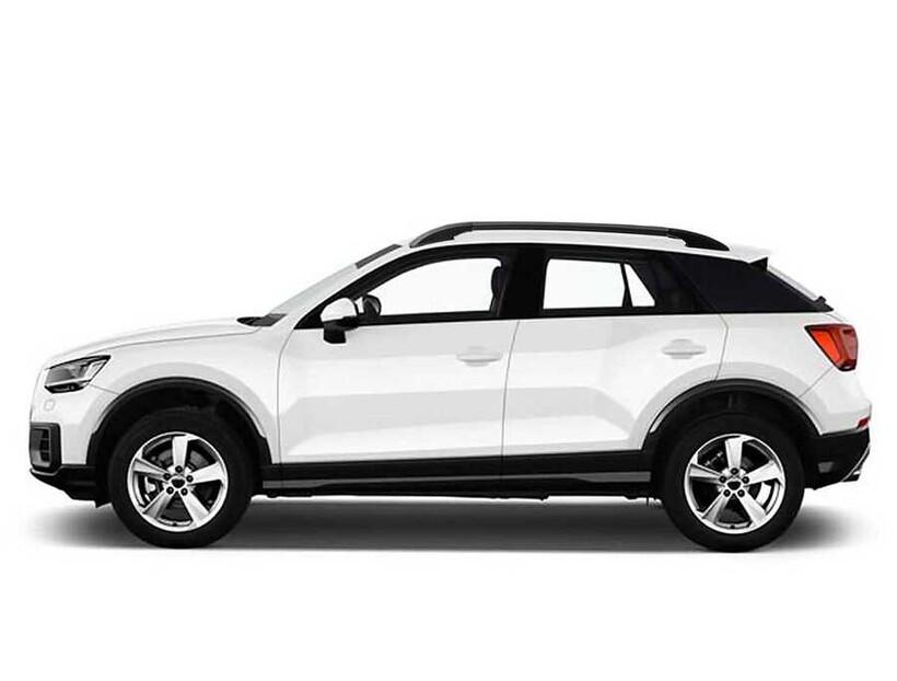 Tavan Çıtaları - Audi Q2 Solid Tavan Çıtası Siyah Yapıştırma 2016 ve Sonrası