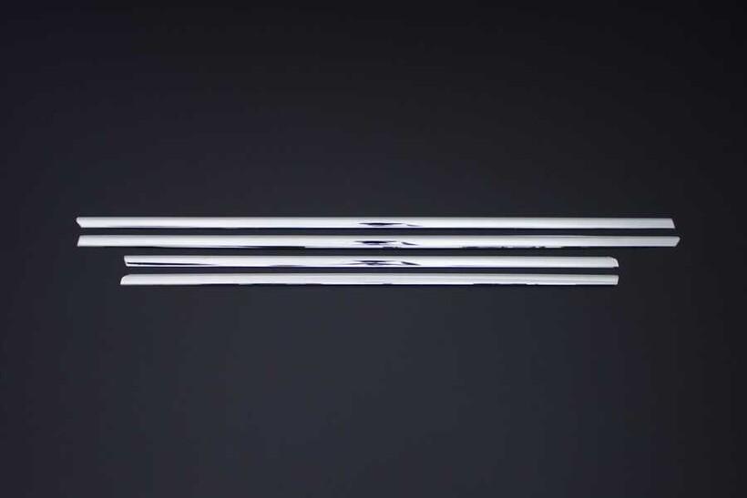 Krom Aksesuar » Omsa - Bmw 3 Serisi E46 Krom Cam Çıtası 4 Parça 1998-2005 Arası