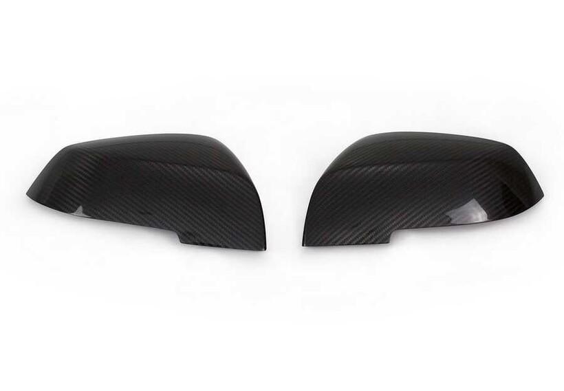 Karbon Aksesuarlar - Bmw F20 1 Serisi Karbon Ayna Kapağı 2 Parça 2011 ve Sonrası