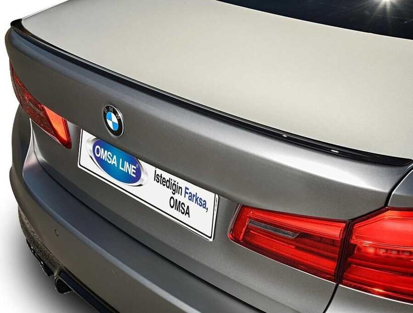 Body Kit » Plastik - BMW G30 5 Serisi Bagaj Üstü Plastik Spoiler Boyasız ABS 2017 ve Sonrası
