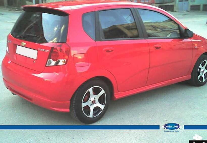 Body Kit » Fiber - Chevrolet Aveo Spoiler 2005-2010