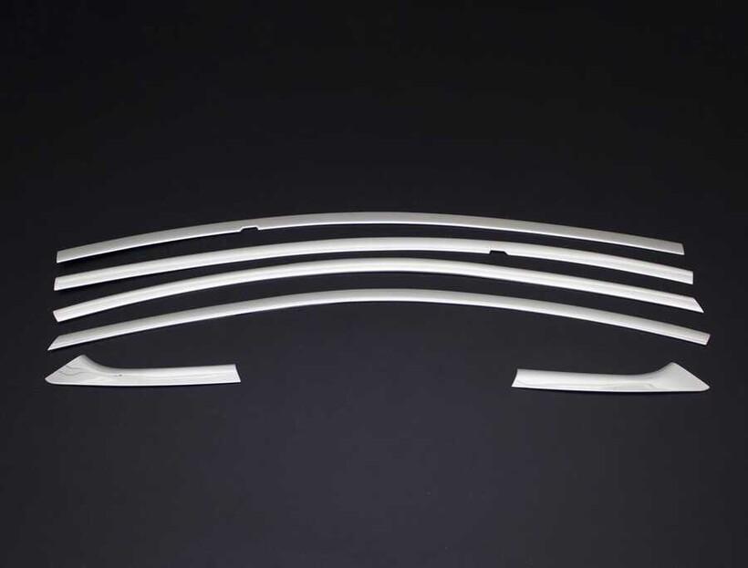 Krom Aksesuar » Omsa - Chevrolet Cruze Krom Üst Cam Çerçevesi 6 Parça 2009 ve Sonrası