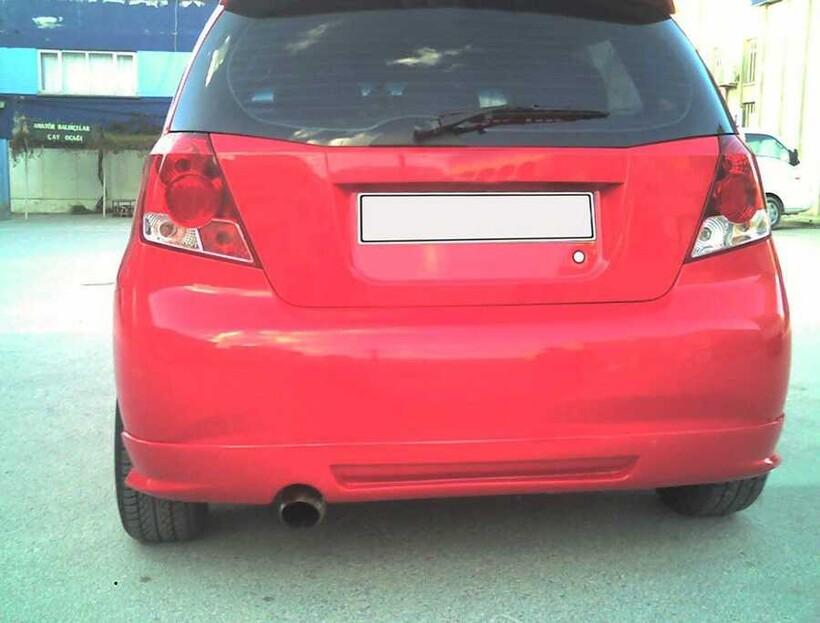 Body Kit » Fiber - Chevrolet Kalos Arka Karlık 2005-2010 Arası