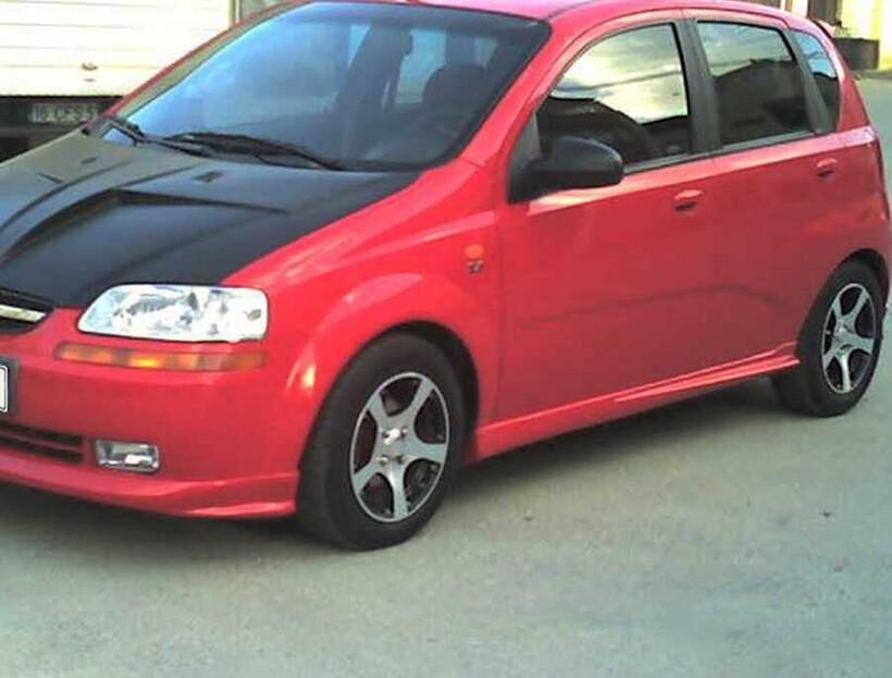 Body Kit » Fiber - Chevrolet Kalos Marşpiyel 2005-2010 Arası