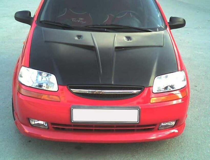 Body Kit » Fiber - Chevrolet Kalos Ön Karlık 2005-2010 Arası