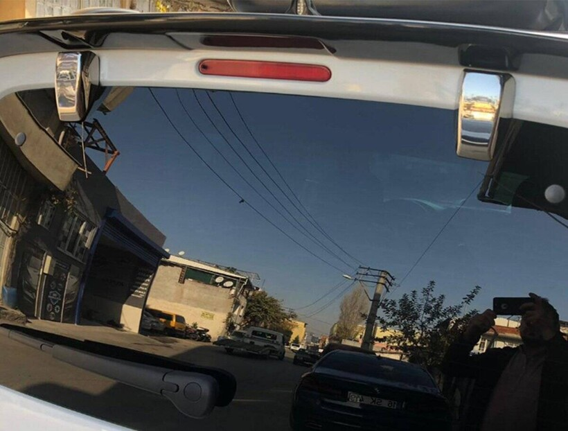 Krom Aksesuar » Omsa - Citroen Berlingo 3 Krom Bagaj Menteşe Kapağı 2 Parça 2019 ve Sonrası
