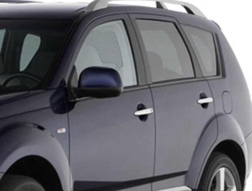 Krom Aksesuar » Omsa - Citroen C-Crosser Krom Kapı Kolu 8 Parça Tek Delikli Çift Sensörlü 2007-2012 Arası