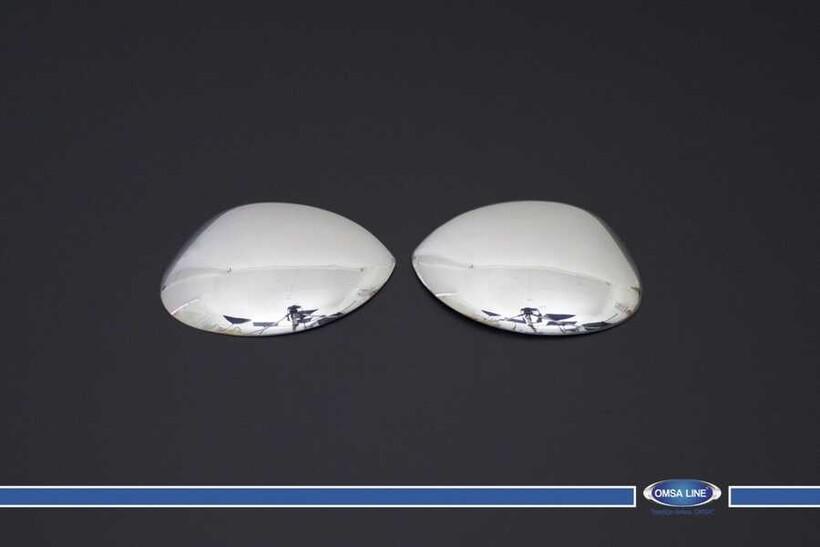 Krom Aksesuar » Omsa - Citroen C2 Krom Ayna Kapağı 2 Parça 2003-2009 Arası