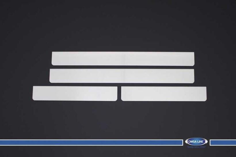 Krom Aksesuar » Omsa - Citroen C3 Krom Kapı Eşiği 4 Parça 2002-2009 Arası