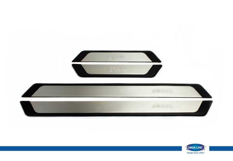 Krom Aksesuar » Omsa - Citroen C4 Flexill Line Kapı Eşiği 4 Parça 2010-2020 Arası