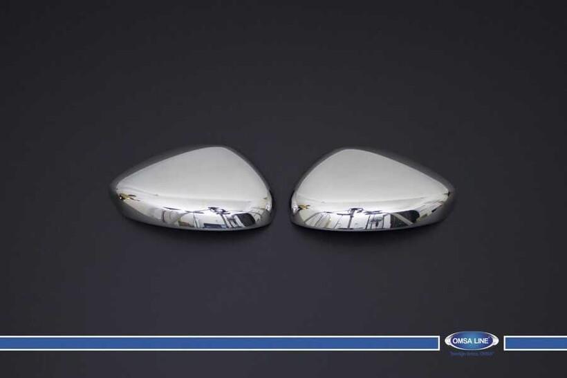 Krom Aksesuar » Omsa - Citroen C4 Krom Ayna Kapağı 2 Parça 2010-2020 Arası
