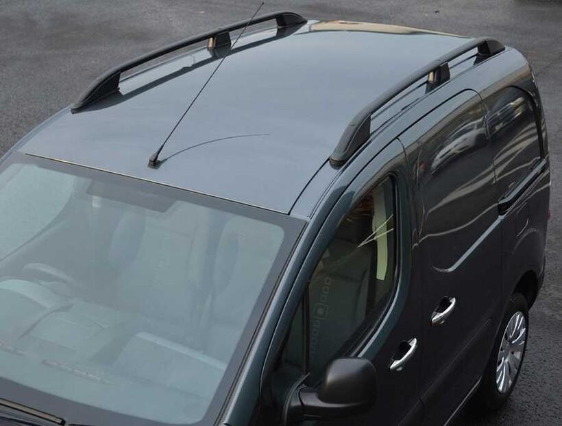 Tavan Çıtaları - Citroen Jumpy 3 Elegance Tavan Çıtası Siyah Kısa Şase 2017 ve Sonrası