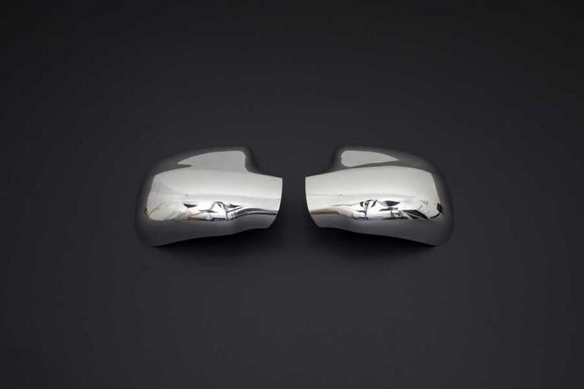 Krom Aksesuar » Omsa - Dacia Logan MCV Krom Ayna Kapağı 2 Parça 2006-2013 Arası
