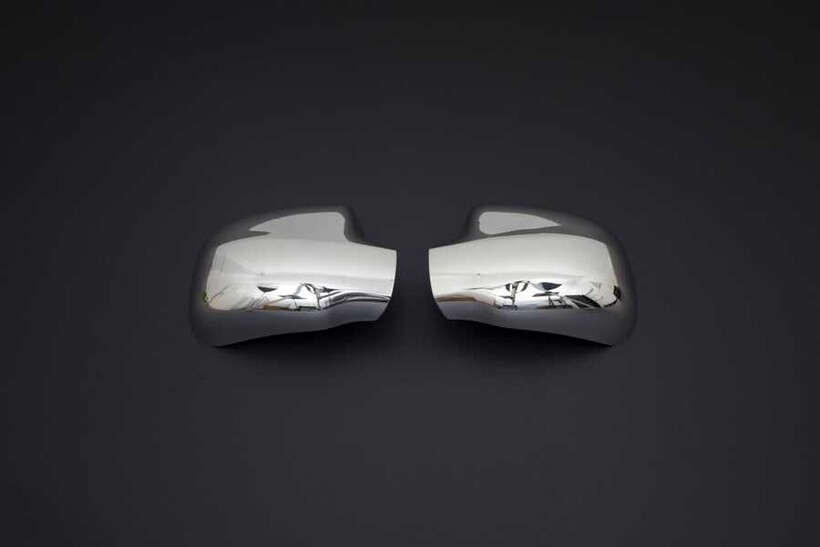 Krom Aksesuar » Omsa - Dacia Sandero Krom Ayna Kapağı 2 Parça 2008-2012 Arası