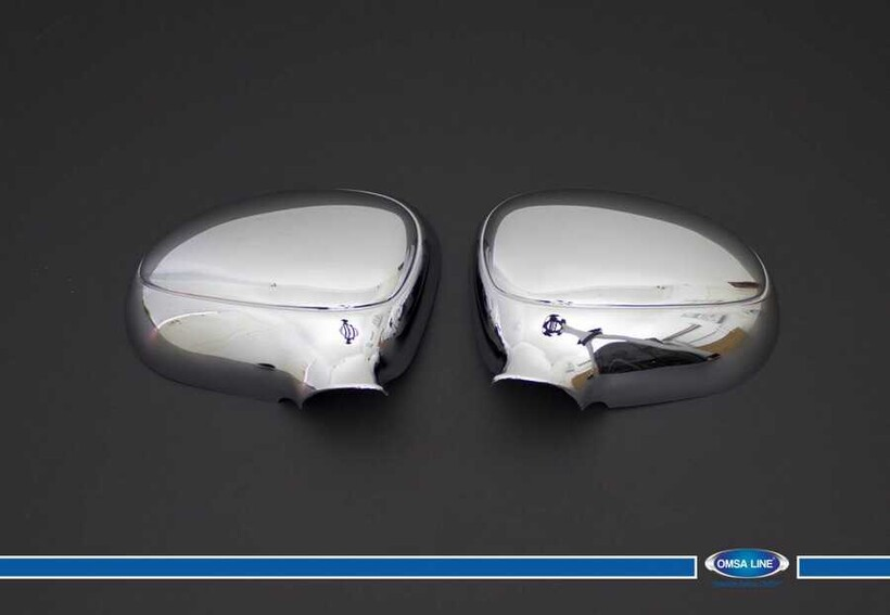 Krom Aksesuar » Omsa - Daewoo Matız Krom Ayna Kapağı 2 Parça Abs 2006-2008 Arası