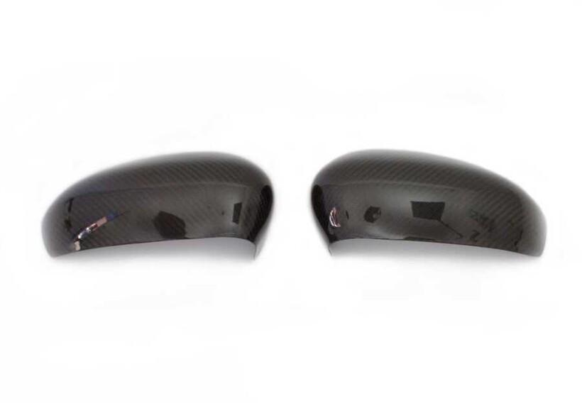 Karbon Aksesuarlar - Fiat 500/500C Karbon Ayna Kapağı 2 Parça 2007 ve Sonrası