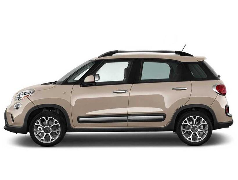 Tavan Çıtaları - Fiat 500L Solid Tavan Çıtası Alüminyum Yapıştırma 2013 ve Sonrası