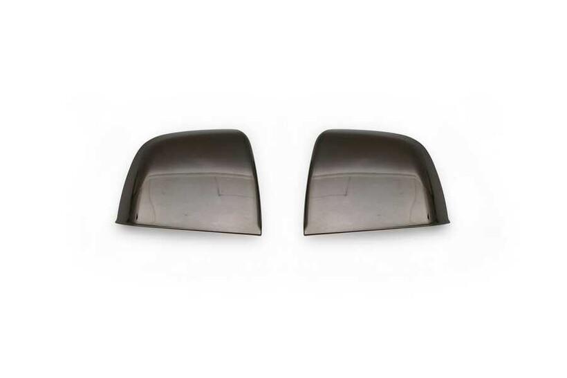 Krom Aksesuar » Omsa - Fiat Doblo 2 Siyah Krom Ayna Kapağı 2 Parça Abs 2010 ve Sonrası