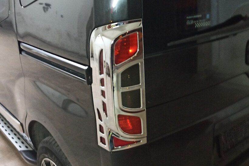 Krom Aksesuar » Omsa - Fiat Fiorino Krom Stop Çerçevesi 2 Parça Abs 2007 ve Sonrası