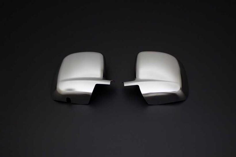 Krom Aksesuar » Omsa - Fiat Fiorino/Qubo Saten Krom Ayna Kapağı 2 Parça Abs 2007 ve Sonrası