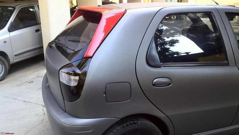 Body Kit » Fiber - Fiat Palio Uzun Kulak Spoiler Işıksız 1999-2014