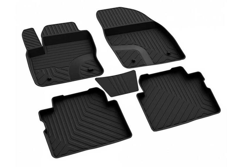 4D Paspas - Ford C-Max 2 4D Havuzlu Paspas Siyah 2011-2015 Arası