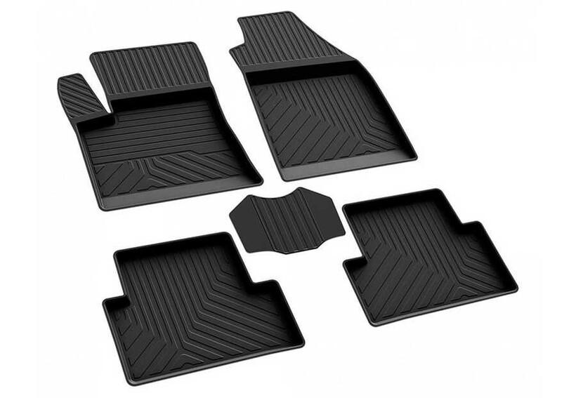 4D Paspas - Ford Connect 4D Havuzlu Paspas Siyah 2002-2014 Arası