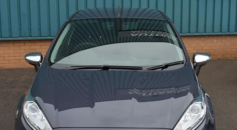 Krom Aksesuar » Omsa - Ford Fiesta Krom Ayna Kapağı 2 Parça Abs 2009-2017 Arası