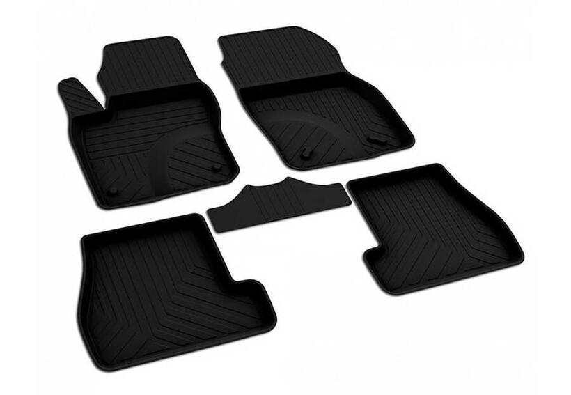 4D Paspas - Ford Focus 3 4D Havuzlu Paspas Siyah 2015-2017 Arası