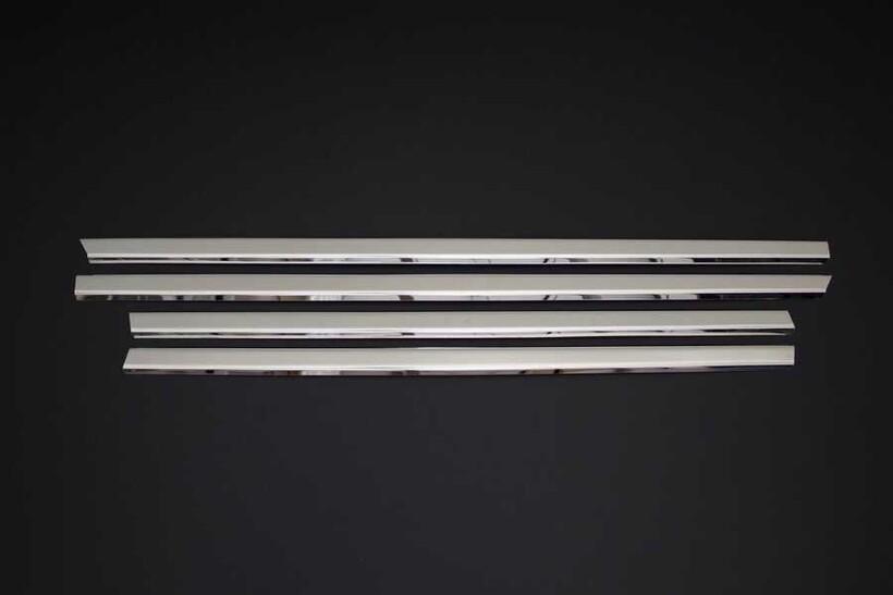 Krom Aksesuar » Omsa - Ford Fusion Krom Cam Çıtası 4 Parça 2002-2012 Arası