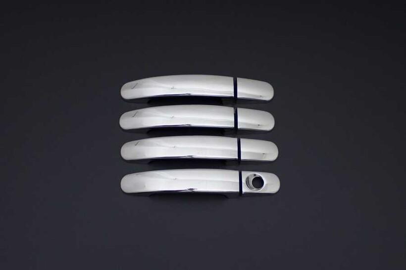 Krom Aksesuar » Omsa - Ford Ranger Krom Kapı Kolu 4 Kapı Sensörlü 2011 ve Sonrası
