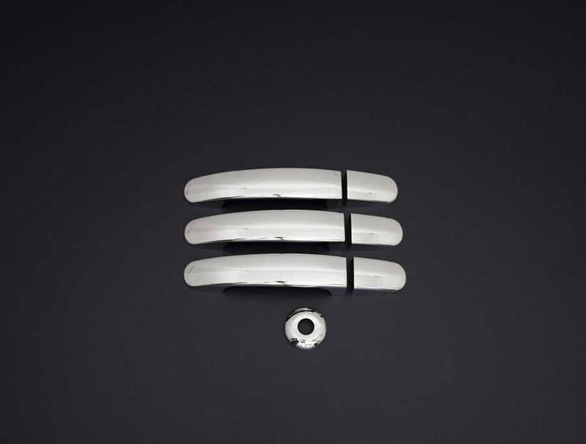 Krom Aksesuar » Omsa - Ford Tourneo Custom Krom Kapı Kolu 3 Kapı 2012 ve Sonrası