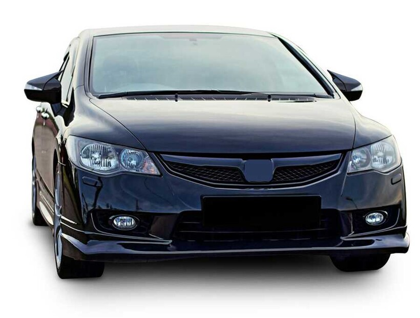Body Kit » Plastik - Honda Civic FD6 Yarasa Batman Ayna Kapağı Piano Black ABS 2006-2012 Arası