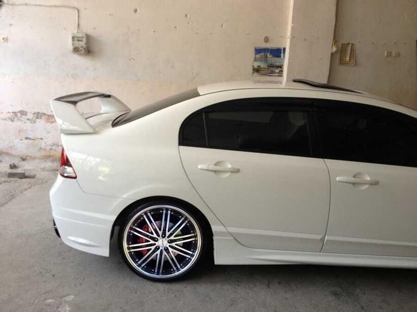 Body Kit » Fiber - Honda Civic FD6 Yüksek Spoiler 2006-2012