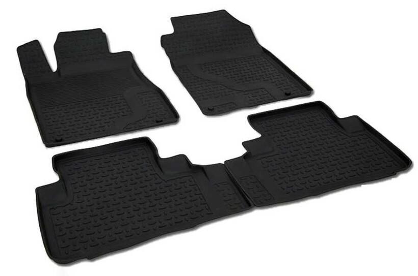 4D Paspas - Honda CR-V 4D Havuzlu Paspas Siyah 2013 ve Sonrası