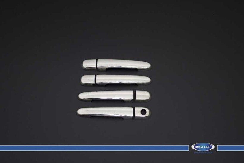 Krom Aksesuar » Omsa - Hyundai Accent Era Sedan Krom Kapı Kolu 4 Kapı 2005-2011 Arası