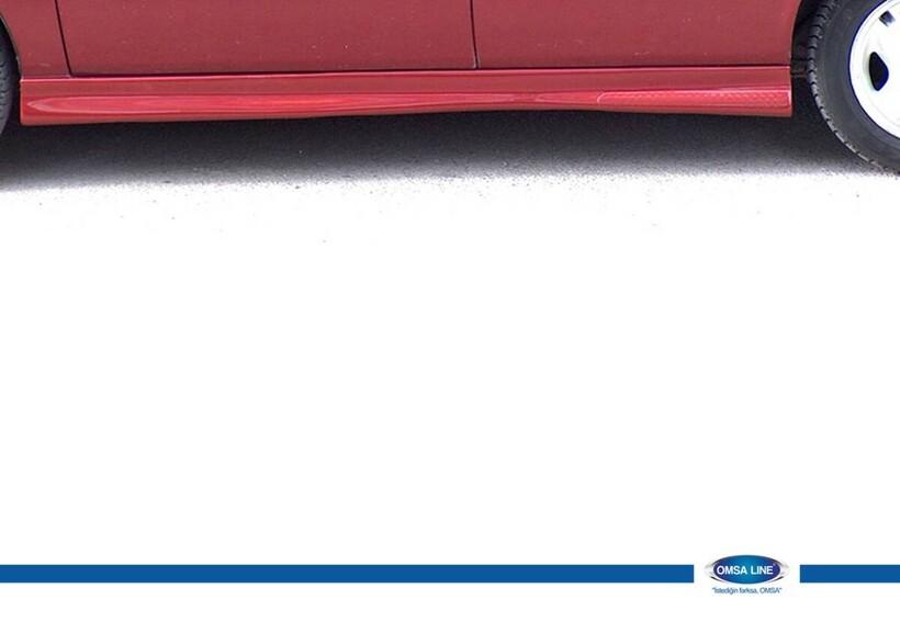 Body Kit » Fiber - Hyundai Accent Marşpiyel Mılenıum 2000-2003