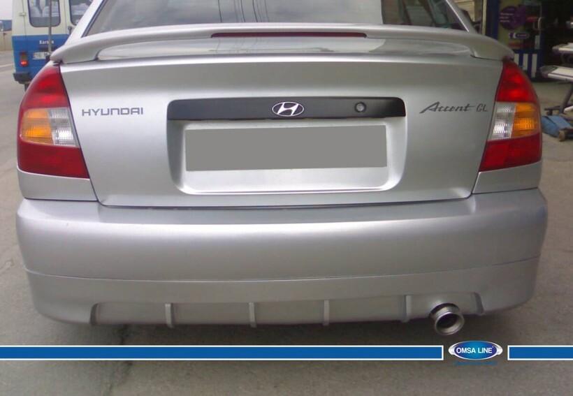 Body Kit » Fiber - Hyundai Accent Spoiler Işıklı Mılenıum 2000-2003