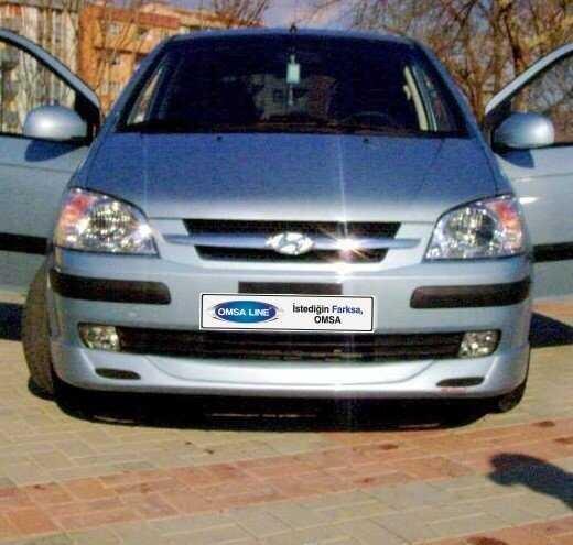 Body Kit » Fiber - Hyundai Getz Ön Karlık 2002-2011