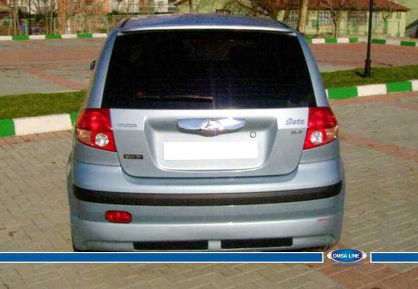 Body Kit » Fiber - Hyundai Getz Spoiler Işıksız 2002-2011