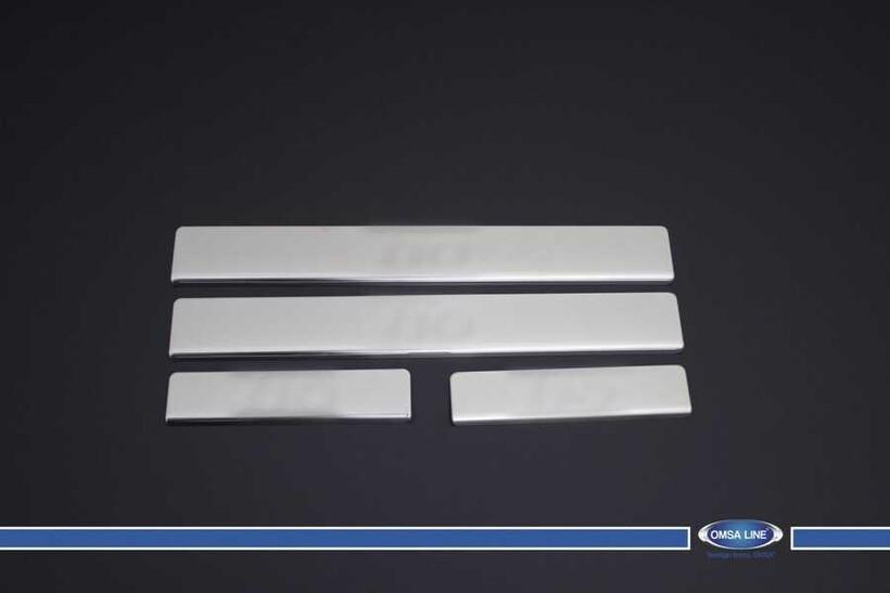 Krom Aksesuar » Omsa - Hyundai i10 Krom Kapı Eşiği 4 Parça 2013 ve Sonrası