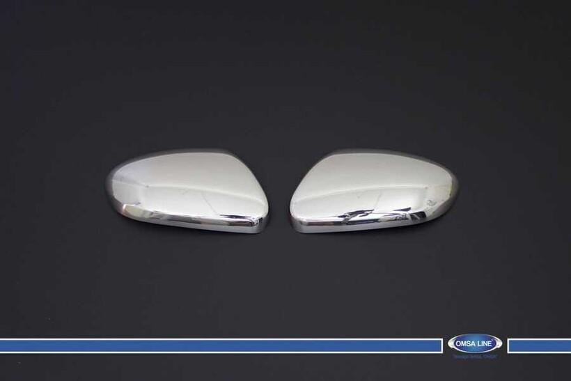 Krom Aksesuar » Omsa - Hyundai i20 Krom Ayna Kapağı 2 Parça 2014 ve Sonrası
