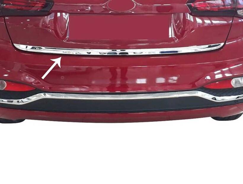 Krom Aksesuar » Omsa - Hyundai İ20 HB Krom Bagaj Alt Çıta 2018-2020 Arası