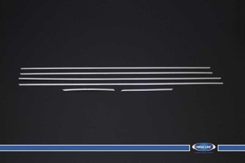 Krom Aksesuar » Omsa - Hyundai i20 Krom Cam Çıtası 6 Parça 2014 ve Sonrası