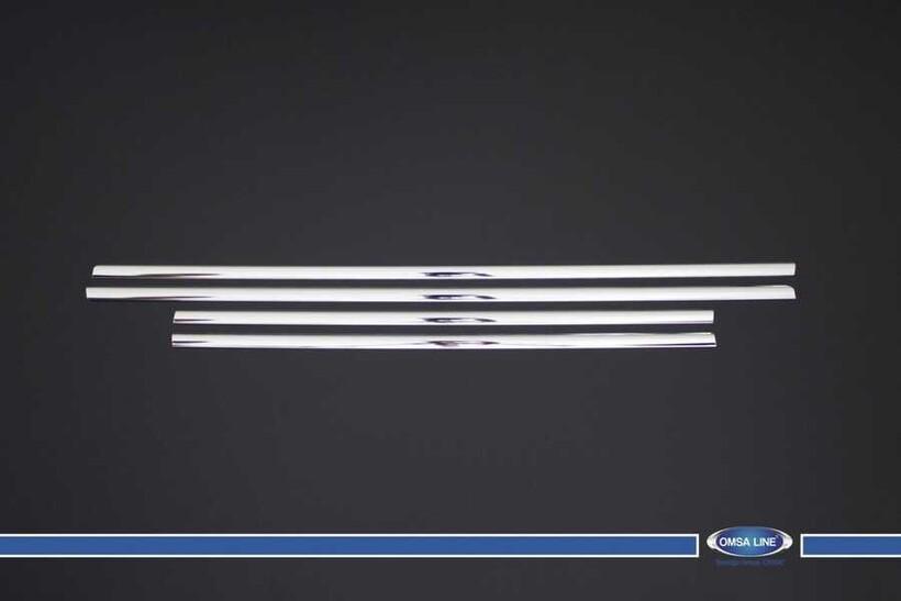 Krom Aksesuar » Omsa - Hyundai i20 Krom Cam Çıtası 4 Parça 2012-2014 Arası