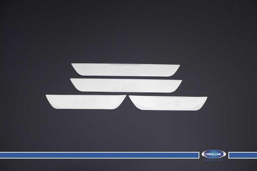 Krom Aksesuar » Omsa - Hyundai i40 SW Krom Kapı Eşiği 4 Parça 2011 ve Sonrası