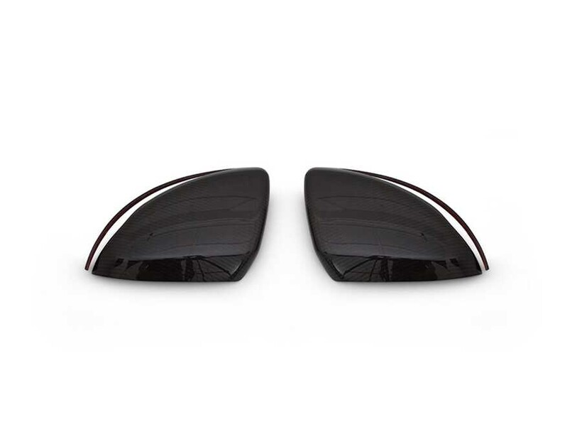 Karbon Aksesuarlar - Mercedes E Class W213 Karbon Ayna Kapağı 2 Parça 2016 ve Sonrası