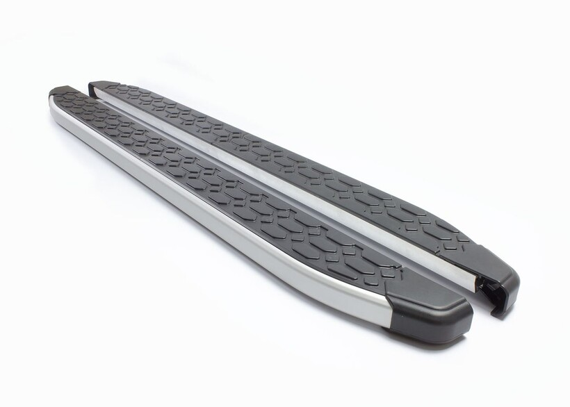 Yan Basamak - Mercedes GLE Class Blackline Yan Basamak Alüminyum 2016 ve Sonrası
